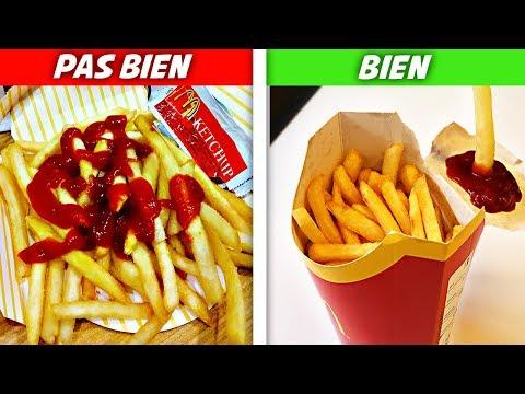 FOOD HACK : 8 Astuces McDonald's à connaître !