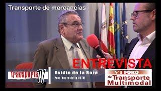 Entrevista Ovidio de la Roza, presidente de ASETRA y de la CETM