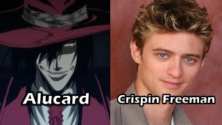 Characters and voice actors - hellsing ultimate