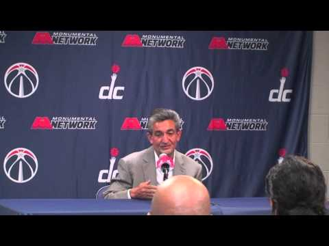 Ted Leonsis before Wizards Open Practice
