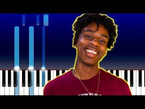 Polo G, Mustard – Heartless (Piano Tutorial)
