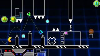 Geometry Dash Layout - Steel Terror by Yanikl (me)