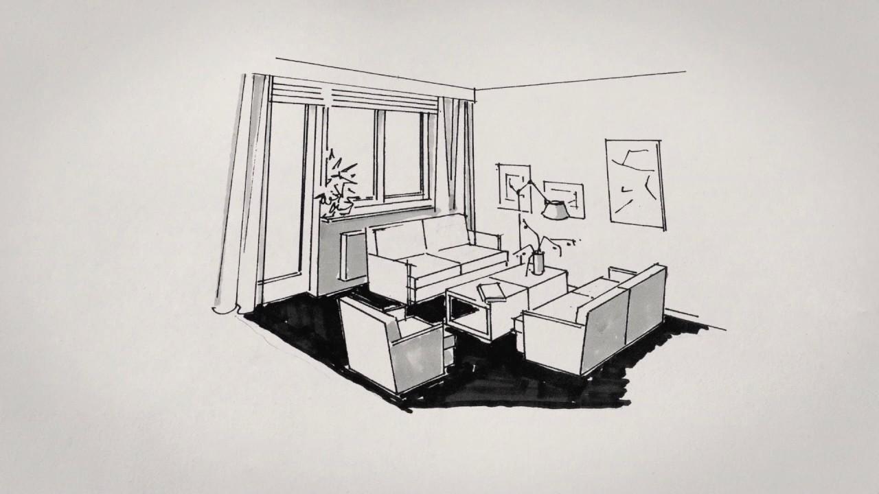 Raumgestaltunginnenarchitektur Beim Ils Youtube