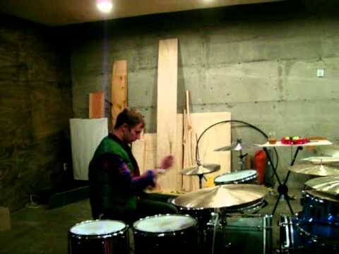 Jeremy Green Modest Mouse - Drumming
