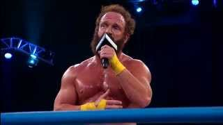 Repeat youtube video Eric Young doesn't want to wait for his Title Shot (April 10, 2014)