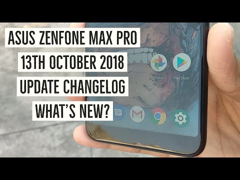 Asus Zenfone Max Pro M1  14th October Update Change Log! What's New?