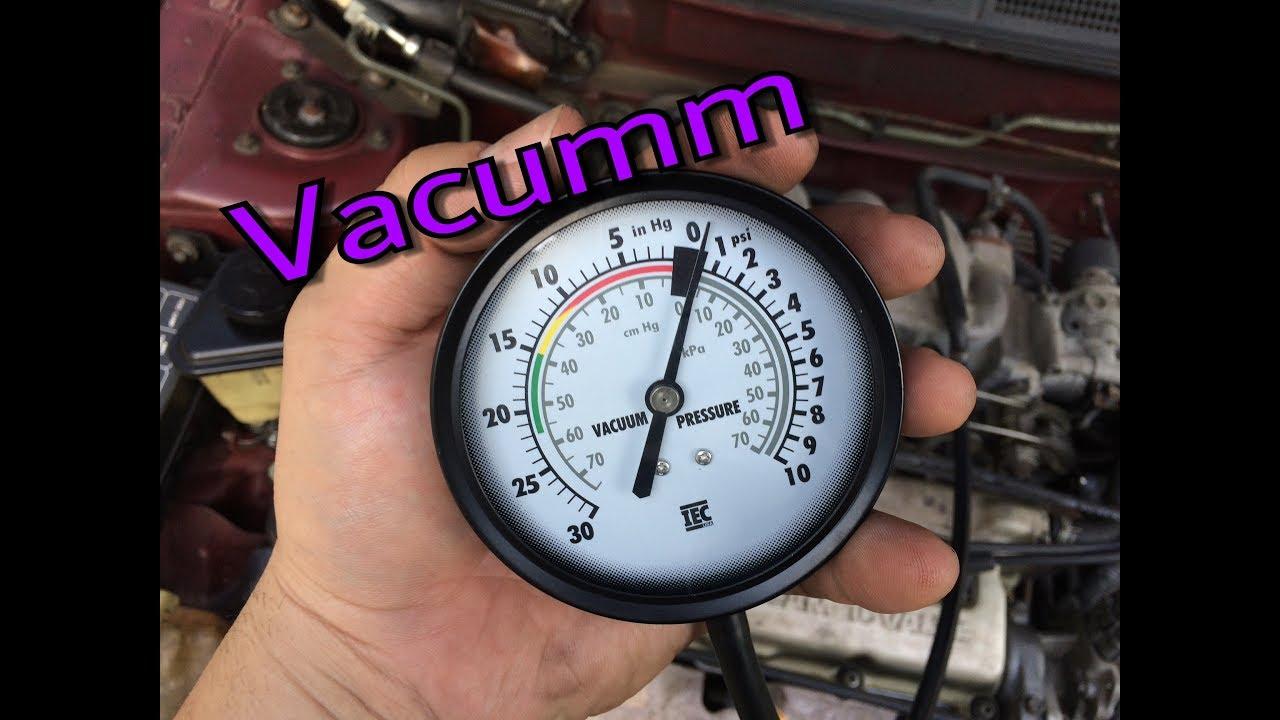 Tabla de diagnostico de fallas por vacuometro