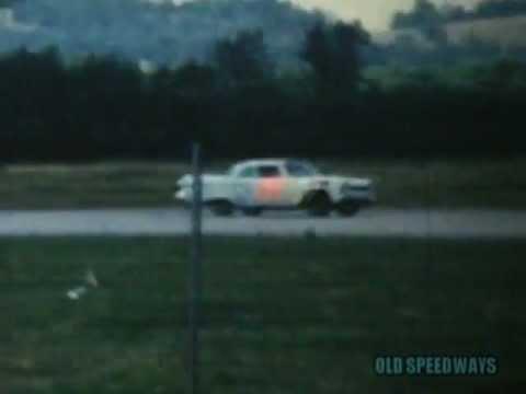 Old Speedways 1960 NASCAR AT STEWART AIR FORCE BASE