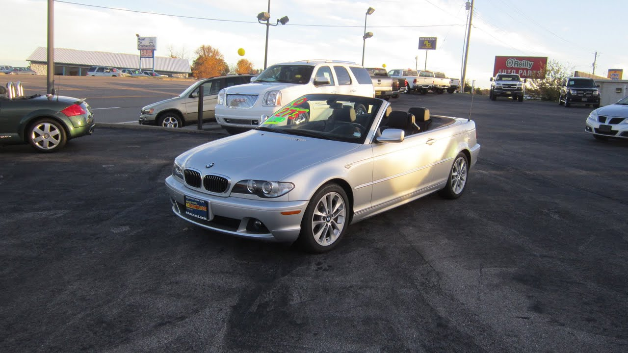 2006 BMW 330Ci Convertible  Full Tour  Start Up  YouTube