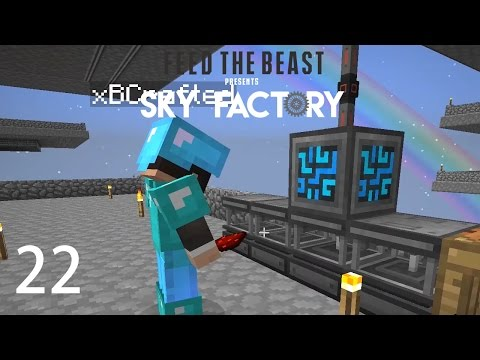 Sky Factory 3 w/ xB - REFINED STORAGE [E22] (Minecraft Modded Sky Block)
