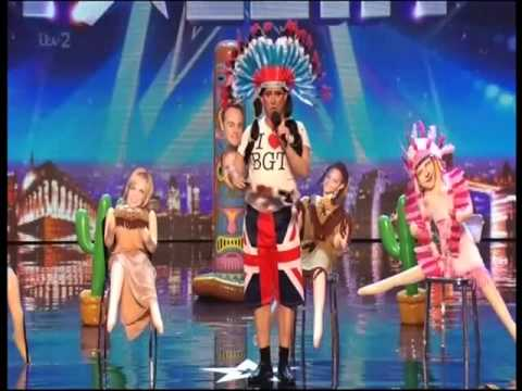 Britain's Got Talent 2014 - Jason Watkins as Little Butch