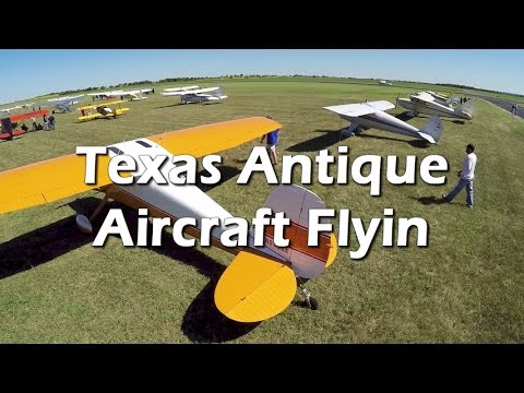 Coming! Texas Antique Airplane Association Flyin Oct 13/14, 2017