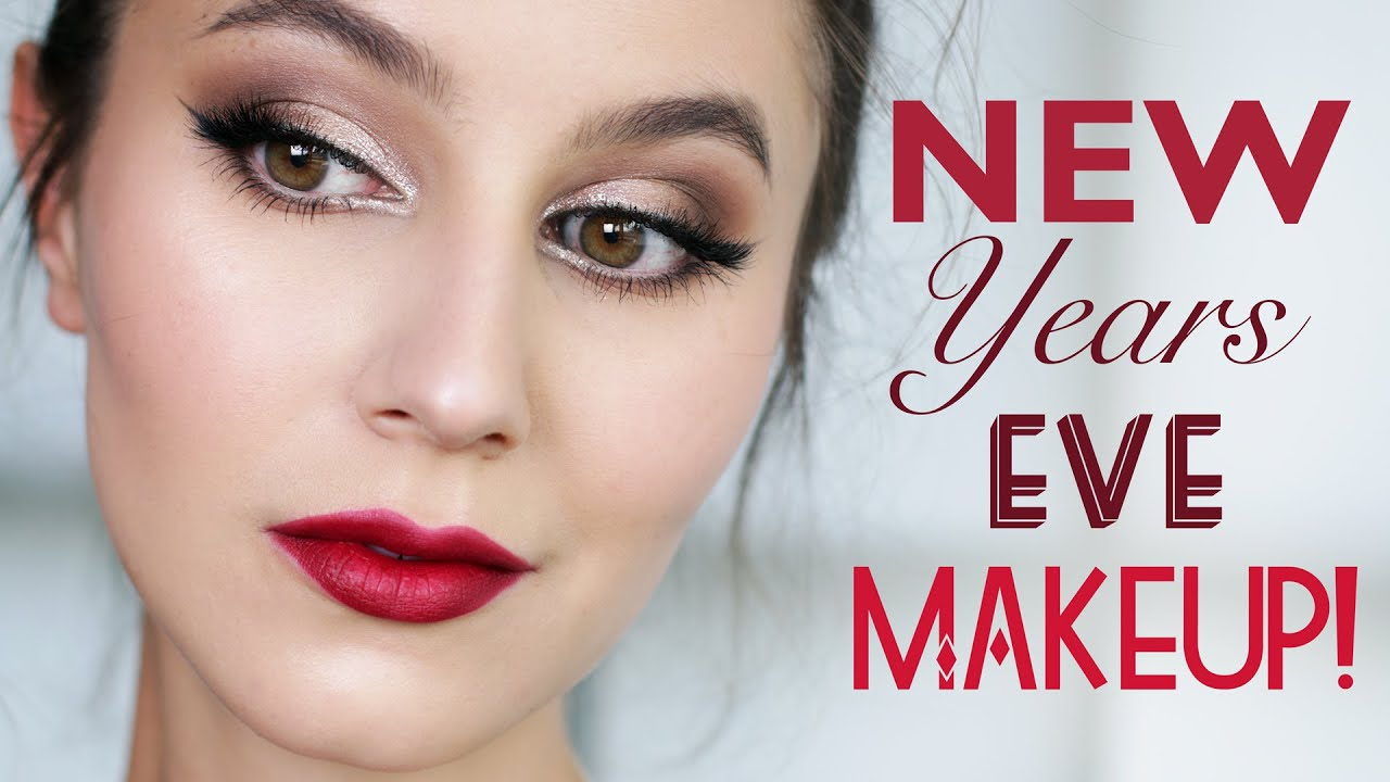 Affordable & Easy New Years Eve Makeup Tutorial | Karima ...
