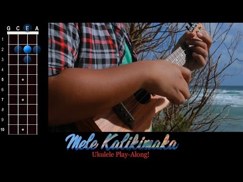 """Mele Kalikimaka"" (Merry Christmas) Ukulele Play-Along!"