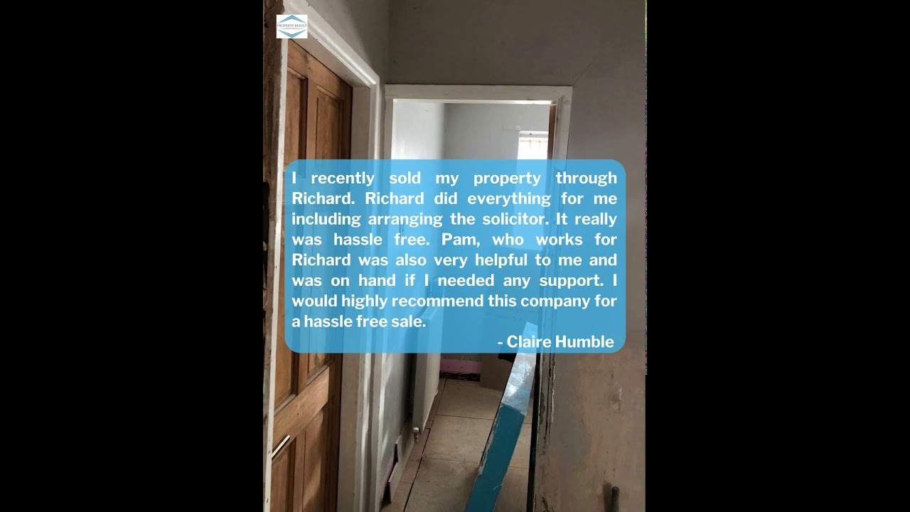 Property Result Investment Review - Claire Humble's Feedback