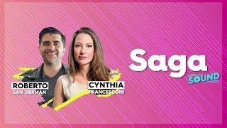 SagaSound toda tu música con Cynthia Francesconi y Roberto San Germán