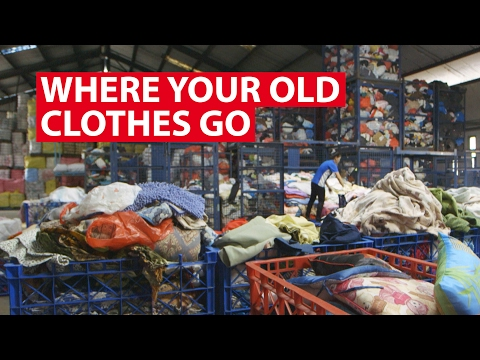 Where Your Old Clothes Go | Trash Trail | CNA Insider