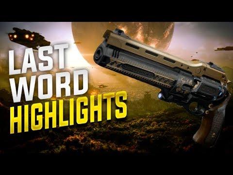 Destiny 2: Last Word Highlights! thumbnail