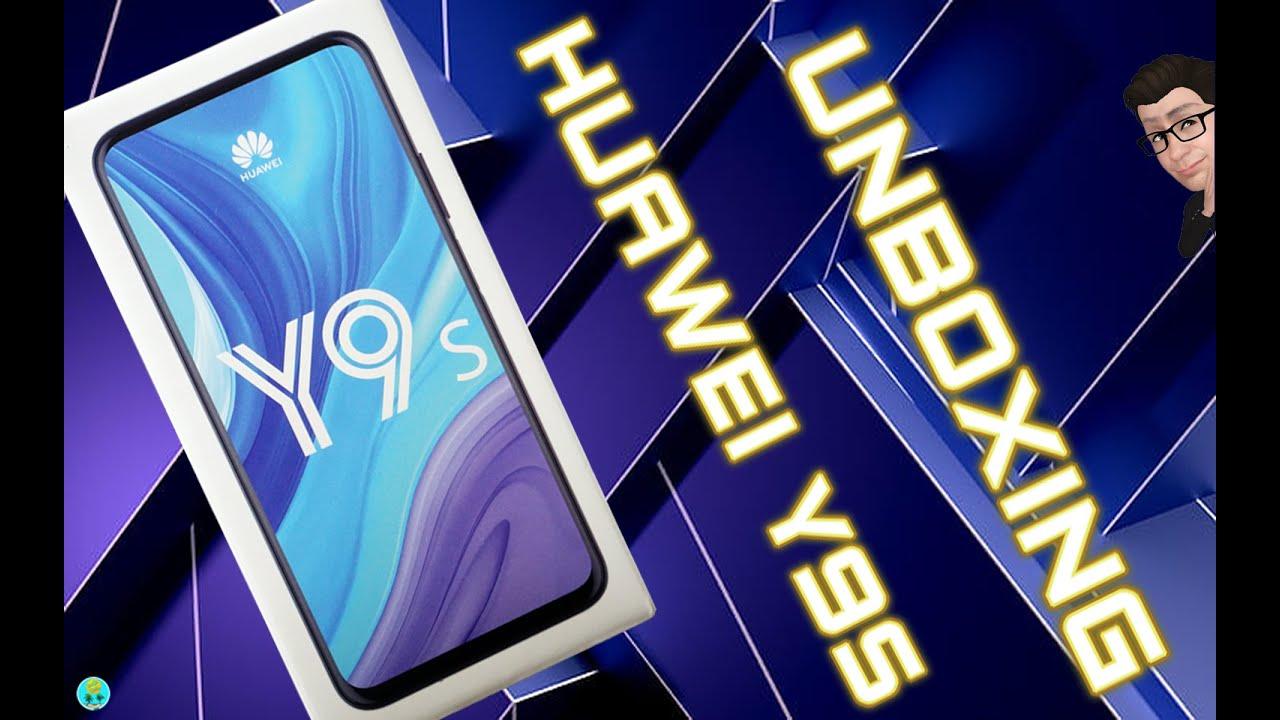 Huawei Y9s unboxing español, las cámaras retráctiles ¡¡¡aun viven!!!
