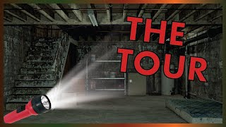 The CREEPY Tour Of Our New Basement