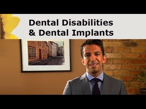 Dental Implant Disabilities