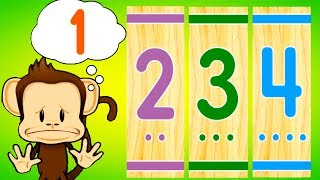 Fun Learn Colors, Letters, Numbers With Monkeys - Educational Learning Games For Kids