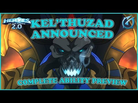 Grubby | Heroes of the Storm 2.0 - Kel'Thuzad Announced and Complete Ability Preview