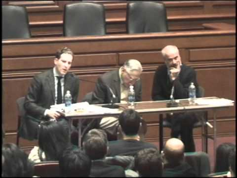 "Noah Feldman & Duncan Kennedy Debate ""Can Israel Be Both Jewish and Democratic?"""