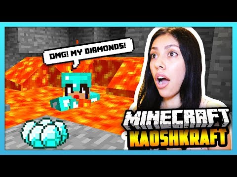 I FOUND THE SECRET DIAMONDS & THEN I DIED...! - Minecraft Survival: KaoshKraft SMP 3 - EP 71