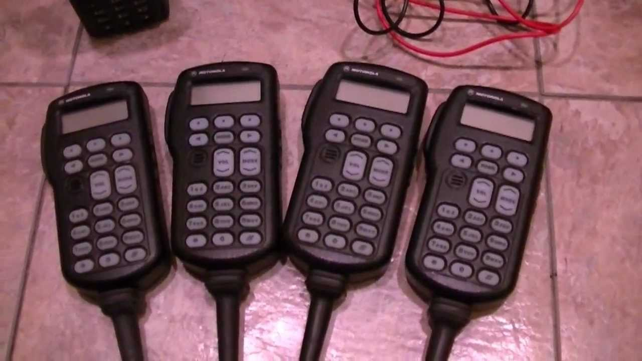 Motorola XTS5000 Model III FPP Demo, XTVA Full-Feature Mics, XTS2500  Housings and News