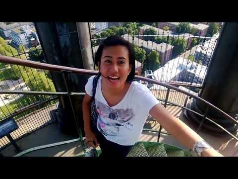 Travel Talk ID: St.Michael Church Rooftop, Hamburg, Jerman with Intan Wibisono, Summer 2013
