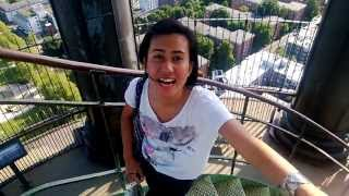 Travel Talk ID: St.Michael Church Rooftop, Hamburg, Jerman with Intan Wibisono, Summer 2013