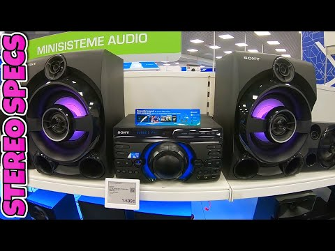 High Power Sony MHC M60D Round Bass Best Mid Class Audio Sistem Review 2020!