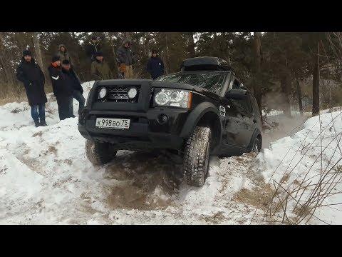 Три Land Rover Discovery - современное поколение против старой школы с разным уровнем подготовки...