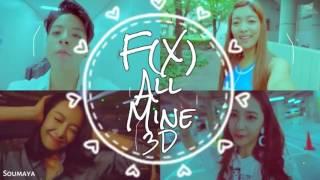 f(x) (에프엑스) – All Mine [ 3D USE HEADPHONES ]