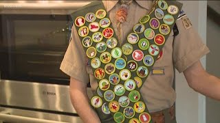 Gambar cover Eagle twins become some of the few Boy Scouts to earn every merit badge