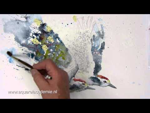 Aquarelleren met Gerard Hendriks - Aquarel Academie