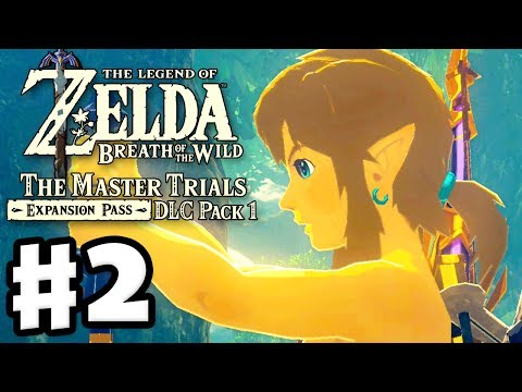 Trial of the Sword Middle Trials! - The Legend of Zelda: Breath of the Wild DLC Pack 1 Gameplay