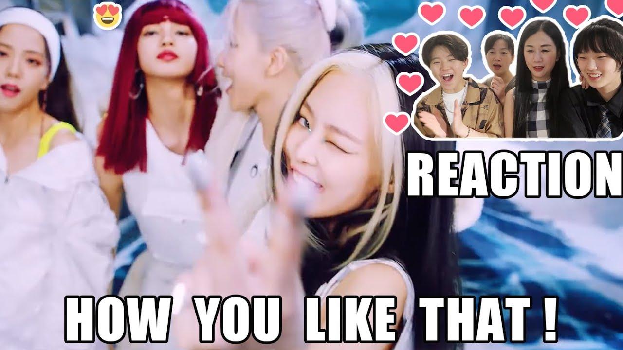 和家人一起看BLACKPINK - How You Like That MV REACTION | My Mom Go Crazy😍 About Jennie