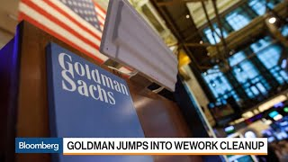 Goldman Sachs to Help SoftBank Save WeWork