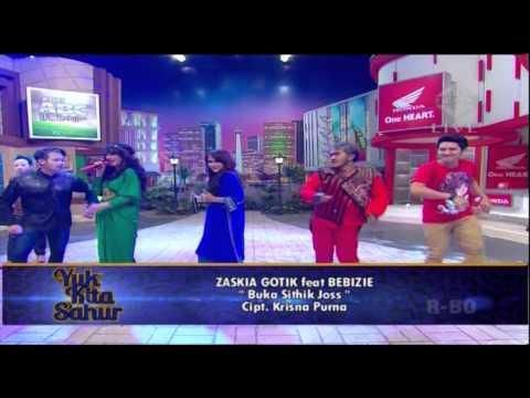 ZASKIA GOTIX Feat BEBIZIE Live At Yuk Kita Sahur (30-07-2013) Courtesy TRANS TV