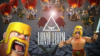 Clash Of Clans - tutorial ITA: Shattered LavaLoon Th9 [FraCaldans]
