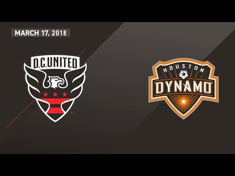 HIGHLIGHTS: D.C. United vs. Houston Dynamo | March 17, 2018