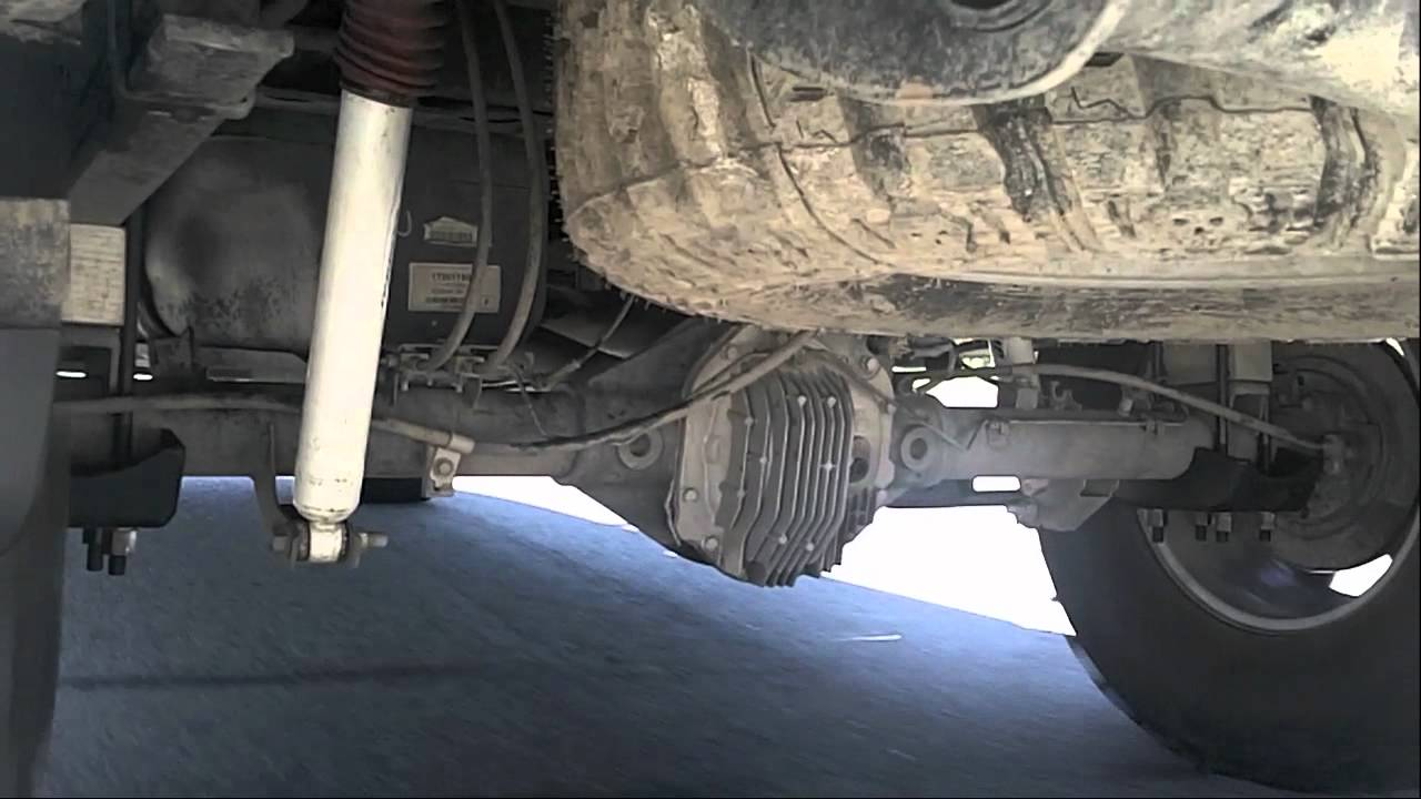 Titan ProComp traction bars - axle wrap (long version) - YouTube