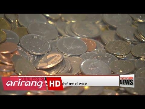 Korea moves to become coinless society