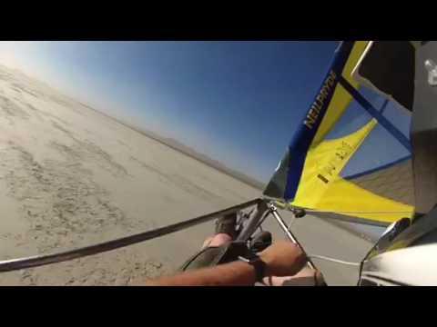 Land sailing at El Mirage