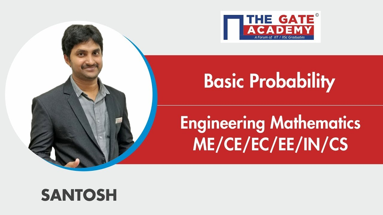 Basic Probability Excellent Question Mathematics Ec Ee In Me Ce Cs