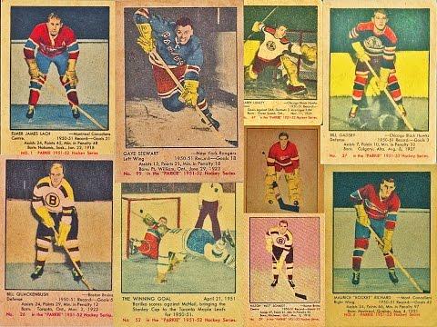 1951-52 Parkhurst NHL Complete Hockey Card Set