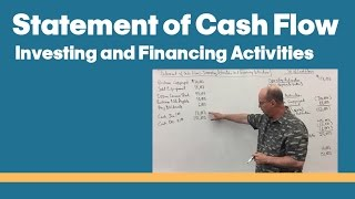 18 - Statement of Cash Flow-Investing Activities and Financing Activities