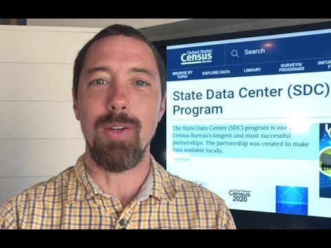 DATA GEMS: How To Get Assistance With Census Data From Your Local State Data Center